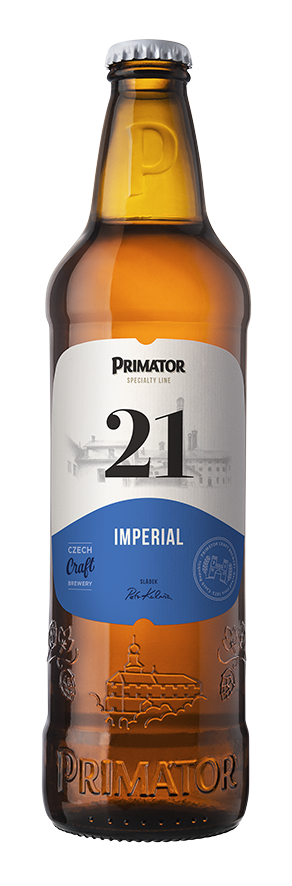 Primátor 21 Imperial Lager